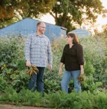 Stepheni and her husband Mike